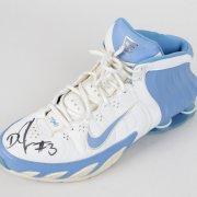Denver Nuggets Signed Lot - Carmelo Anthony Jersey, Nene Game-Issued Sneaker & DerMarr Johnson Game-Worn Shoe