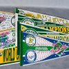 1988-1989 Oakland Athletics World Series And Playoff Pennants