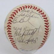 1986 Team-Signed Baseball Red Sox - COA JSA