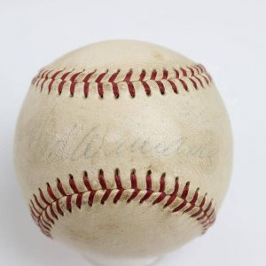 Boston Red Sox - Ted Williams Signed OAL (Harridge) Baseball - JSA