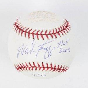 "Boston Red Sox - New York Yankees - Wade Boggs Signed & Inscribed ""HOF 2005"" LE HOF Baseball (Steiner & MLB Holograms)"