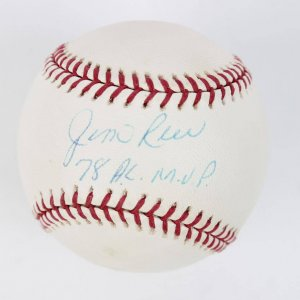 "Boston Red Sox - Jim Rice Signed & Inscribed ""78 A.L. M.V.P."" OAL (Budig) Baseball"