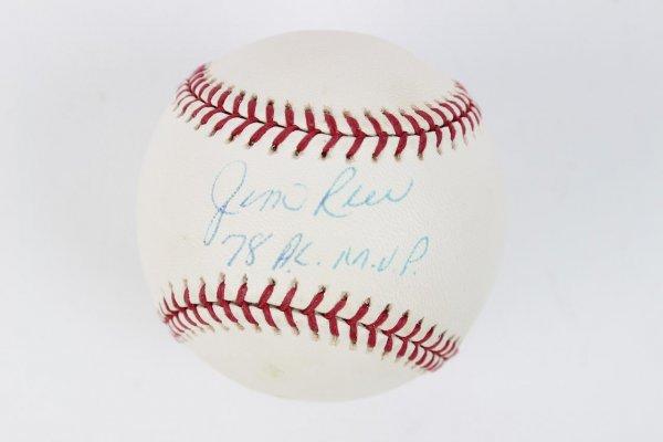 "Boston Red Sox - Jim Rice Signed & Inscribed ""78 A.L. M.V.P."" OAL (Budig) Baseball"