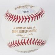 2004 Boston Red Sox - David McCarty Signed WS Baseball (TriStar)