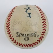 1980s Multi-Signed HOFer Baseball 12 Sigs. Williams,Dandridge,Hunter etc.- JSA