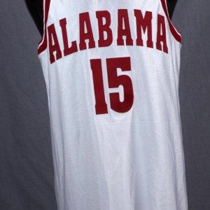 University of Alabama - Thrasher Game-Worn / Used Basketball Jersey