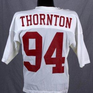 University of Alabama - George Thornton Game-Worn / Used Jersey