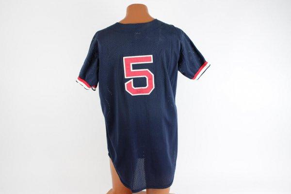 Boston Red Sox - Pawtucket Nomar Garciaparra Signed & Game-Used Spring Training Rawlings Blue Jersey
