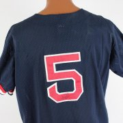 Boston Red Sox - Pawtucket Nomar Garciaparra Signed & Game-Used Spring Training Rawlings Blue Jersey
