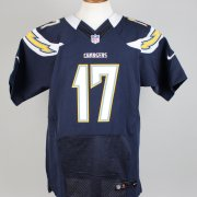 Phillip Rivers Chargers Signed & Inscribed ( 17 ) Home Jersey Signature Grades 9-10