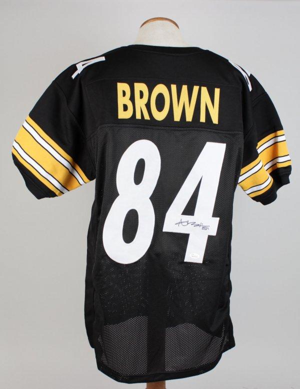 Antonio Brown Signed Jersey Steelers - COA JSA