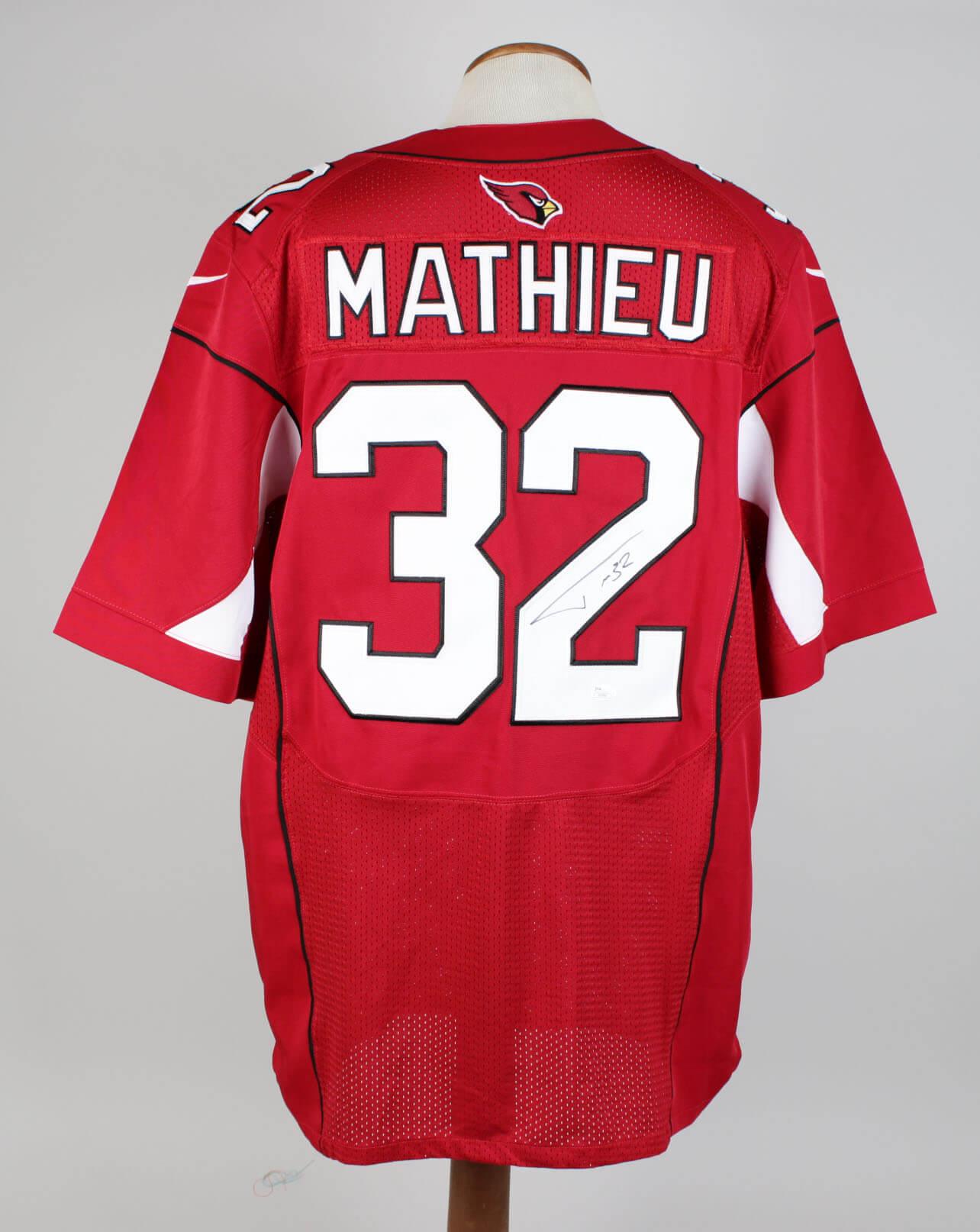 64c422cbd ... cheap NFL Jerseys Online - Tyrann Mathieu (Honey Badger) Arizona  Cardinals Signed   Inscribed .