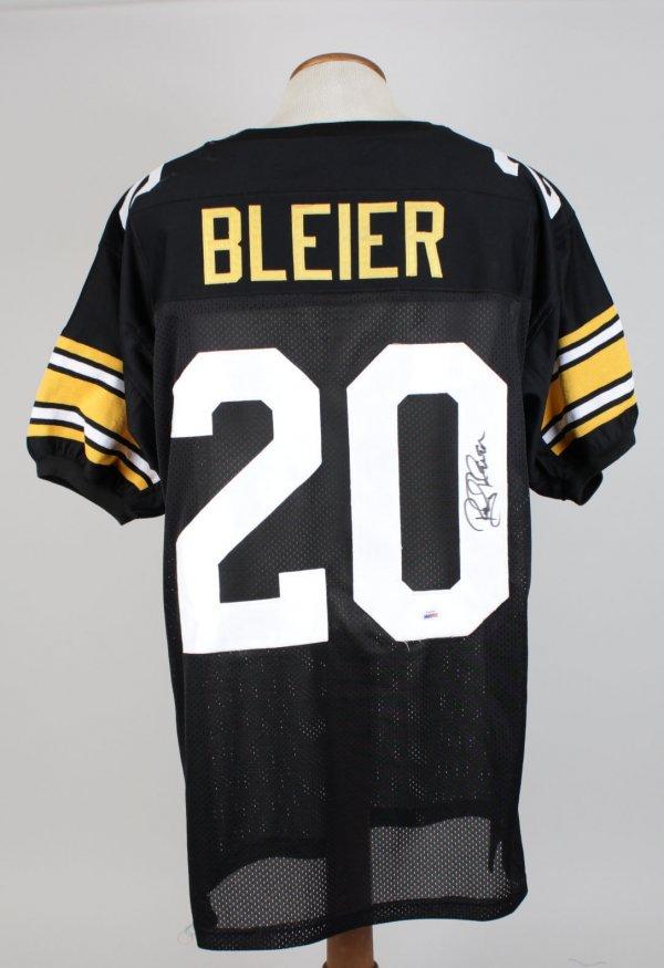 Rockey Bleier Signed Steeler Home Jersey