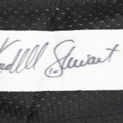 Kordell  Stewart Pittsburgh Steelers Signed Inscribed (10) Black Jersey Signature grades 9-10
