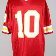 """Kansas City Chiefs - Trent Green Signed & Inscribed """"10"""" Home Jersey - PSA/DNA"""