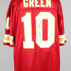 Trent Green K C Signed Inscribed ( 10 ) Home Jersey