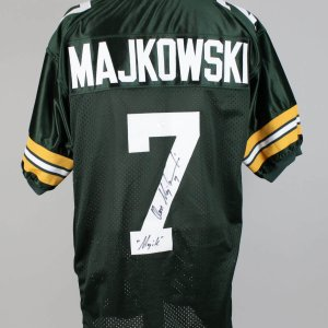 "Green Bay Packers - Don Majakowski Signed, Inscribed ""Magik"" Jersey (JSA COA)"