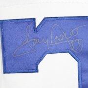 Cowboys Tony Dorsett Autographed White Jersey COA GAI