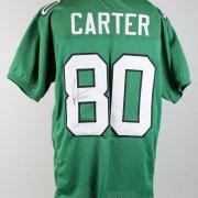 Philadelphia Eagles - Cris Carter Signed Home Jersey - COA JSA