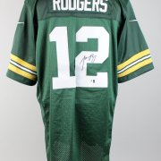 Green Bay Packers - Aaron Rodgers Signed Home Jersey - COA GAI