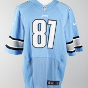 Calvin (Megatron) Johnson Lions Signed Home Jersey
