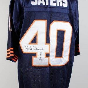 Chicago Bears Gale Sayers Signed Jersey (COA)