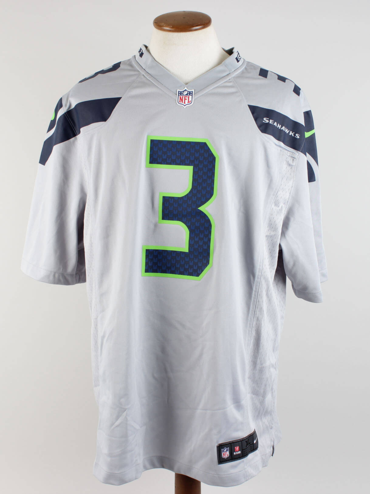 check out f14b1 c11eb Seattle Seahawks – Russell Wilson Signed Jersey (Wilson Hologram) |  Memorabilia Expert