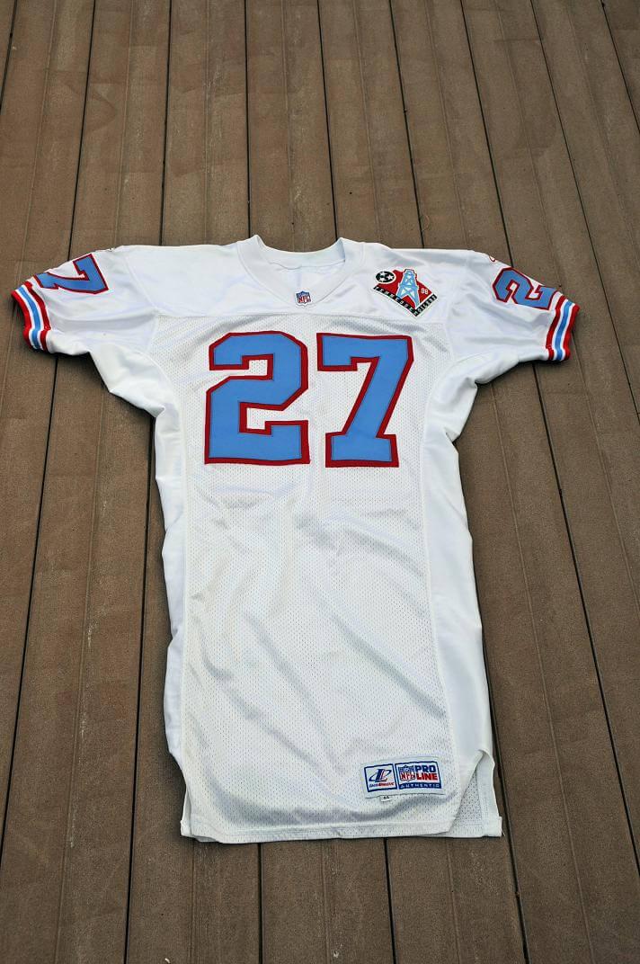 online store dee60 e9720 1998 Tennessee Oilers - Eddie George Game-Worn Jersey