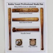 Early 1980s Milwaukee Brewers - Robin Yount Game-Used Bat (PSA/DNA LOA GU 9.5)