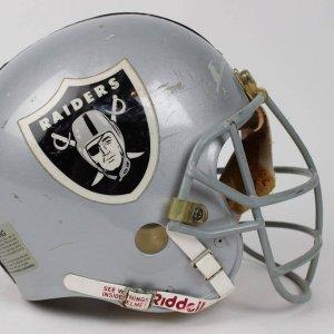 2002 Oakland Raiders - Barret Robbins Game-Worn / Used (MVP-3) Helmet