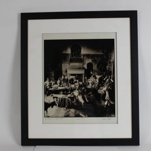"Rolling Stones ""Beggar's Banquet (Sepia)"" Michael Joseph Print Signed LE 15/30 20""x 24"""