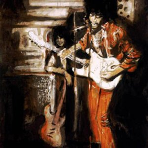 "Rolling Stones Ron Wood ""Jimi Hendrix & Me at the Scene Club"