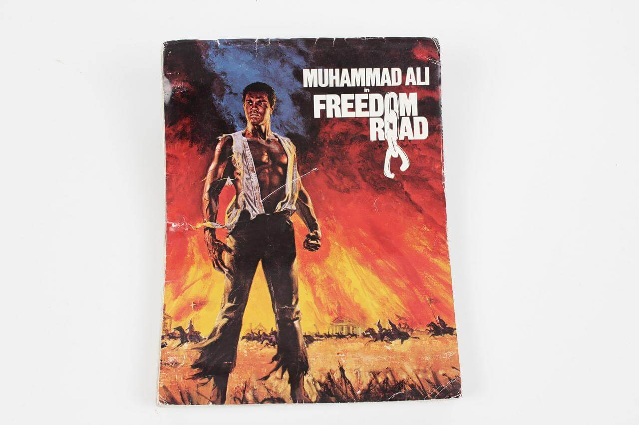 Boxing Great - Muhammad Ali Signed & Inscribed Freedom Road Script- JSA