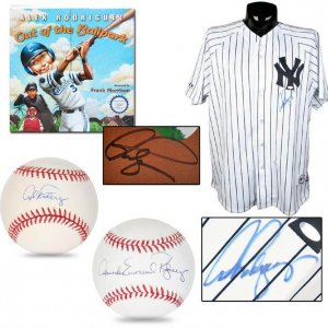 NY Yankees Alex Rodriguez Signed Collection - Jersey