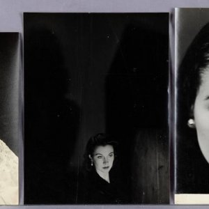 (5) Vintage Vivien Leigh B&W Photographs (McCulty Collection - John Vickers & Vivienne Studio Stamping)