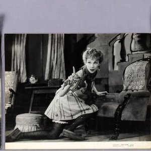 (5) Vintage Vivien Leigh B&W Photographs (McCulty Collection - John Vickers Studio Stamping)