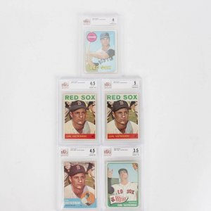 3 Signed  Kirby Puckett Cards 85 Rookie Topps