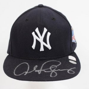 "Alex Rodriguez Signed 2004 Japan ""Opening Series' Cap. Photo From Signing"