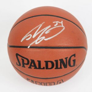 Shaquille O'Neal Signed Offical NBA (Stern) Basketball