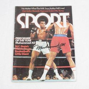 1975 - Muhammad Ali Signed SPORT Magazine