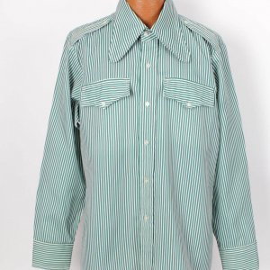 "Boxing Legend - Muhammed Ali Worn Dress Shirt From His Personal Clothing Collection (Incl. Letter From Lloyd ""The Judge"" Wells)"