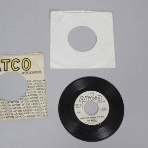 "1962 The Beatles ""Sweet Georgia Brown"" ATCO Records 6302 Rare White Label K Promo .45 Record Album"
