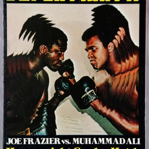 Joe Frazier vs, Muhammad Ali Super Fight II Heavyweight Grudge Match Madison Square Garden-January 28,1974 (On-Sight) Program