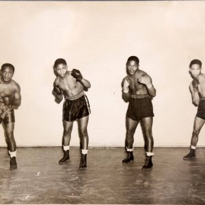 Original Vintage Boxing 8x10 Photograph by Teenie Harris (From Harris' Studio)