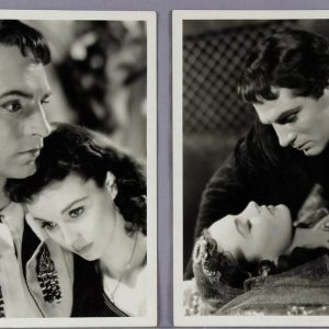 Two Vivien Leigh Vintage 8x10 B&W Photos (McCulty Collection - VANDAMM STUDIO Stamping)