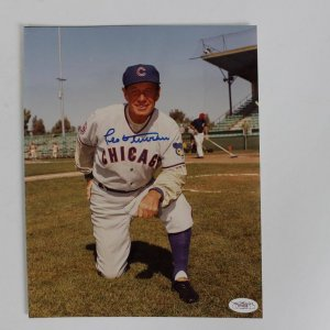 Leo Durocher Cubs Signed