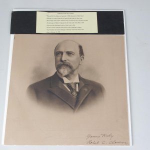 Civil War Union Army Lt. Col. Robert Charles Clowry Signed