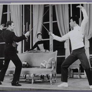 Two Vintage 1964 Vivien Leigh 8x10 B&W Photos (Friedman-Abeles