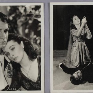 Two Vintage Vivien Leigh 8x10 B&W Photos (By Vandamm Studio - McCulty Collection)