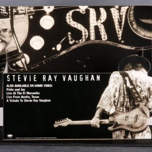 Stevie Ray Vaughan Store Video  Display